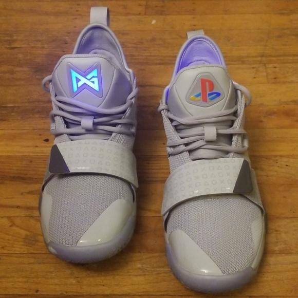 the latest dc83e e1d33 Nike Paul George 2.5 Playstation Grey